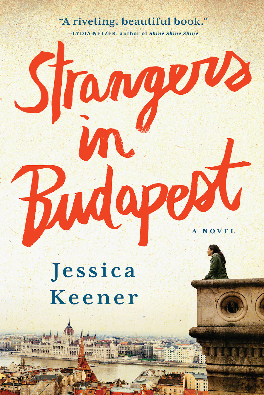 'Incredibly Persistent' Keener Celebrates Newest Novel's Launch